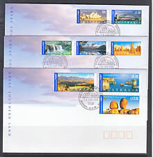 FDCS SET OF 3 COVERS GREAT SOUTHERN LAND    UNDER FAVE VALUE!!!!