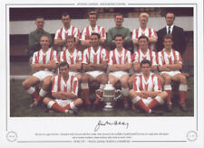 More details for stoke city division 2 champions 1962/3 jimmy mcilroy signed limited edition