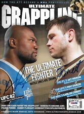 Forrest Griffin & Quinton Rampage Jackson Signed Grappling Magazine PSA/DNA UFC