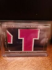 2012 Panini Limited USA JERSEY NUMBER PATCH /25 Cole Irvin Phillies HOT