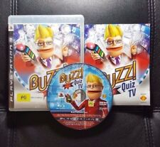 Buzz Quiz TV (Sony PlayStation 3, 2008) PS3 Game - FREE POST