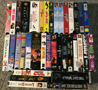 VHS VCR 35 Video Movie Huge Lot A Sci Fi Comedy Christmas (Lesser Condition)