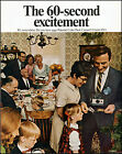 1968 Family dinner table Polaroid Color Pack Camera vintage photo print Ad adL97