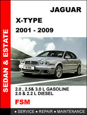 2001 - 2009 Jaguar X Type Diesel Factory Oem Workshop Service Repair Fsm Manual