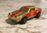 Authentic Vintage 1982 Matchbox Glo Racers Triumph 49 RARE