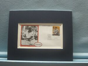 Honoring Negro League and Hall of Fame Player - Josh Gibson & First Day Cover
