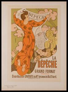 Original Lithograph by Maurice Denis from Les Maitres de L'Affiche, Plate 140.