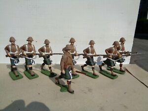 Authenticast Eire SAE HE Seaforth Infantry Highlander officer recast 54mm lead