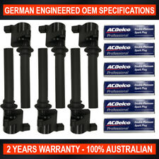 6x Ignition Coil ACDelco Platinum Spark Plugs for Ford Escape Mazda Tribute MPV