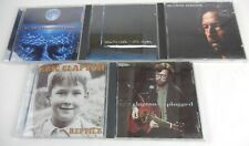 Lot of 5 Eric Clapton (CD, 5-Discs) Journeyman Unplugged Reptile Pilgrim Cradle