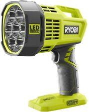 LED Spotlight Light Ryobi 18-Volt ONE+ Dual Power Lighting Portable Flashlight
