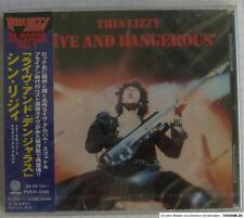 Thin Lizzy - live And Dangerous Remastered Japan CD OBI RAR Phcr-3046