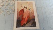 Easter day Paschen Segne Christi Heilige AK Postkarte 8606