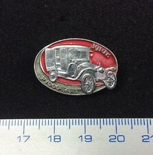 Pin Badge Historic Retro Car 1910 RUSSO-BALT Camion Ancien. Made in USSR.