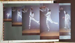 NOS 1992 Nike Michael Jordan Imagination Poster original Air Jordan logo 21x38!