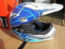 New Sparx JR-O7 MX ATV Core Blue Youth Core System Helmet Size Medium 843012