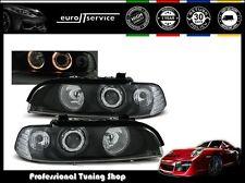 NEUF FEUX AVANT PHARES LPBM09 BMW E39 1995-2000 2001 2002 2003 ANGEL EYES