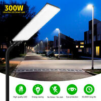 300W 300LED Street Flood Lights Outdoor IP67 Dusk-to-Dawn Road Spot Lamp Garden