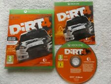 DIRT 4 DAY ONE EDITION XBOX ONE V.G.C. FAST POST ( rally/racing game )
