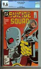 SUICIDE SQUAD #6 CGC 9.6 OW/WH PAGES