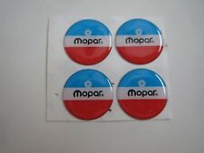 "1960's 1970's DODGE CHRYSLER PLYMOUTH MOPAR LOGO WHEEL CENTER CAP EMBLEMS 1"" 4x"