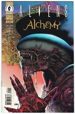 Aliens Alchemy issues #1 & #3,  Richard Corben, 1997.