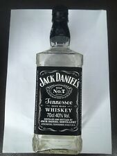 Jack Daniels 70cl Empty Collectable Whisky Bottle Mancave Gift Breweriana