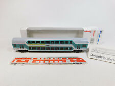 CL705-0, 5 # Märklin H0/AC 43581 Double Decker Car Dabz 756 DB Nem Kk, Mint+Box