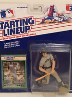 1989 Starting lineup Alan Trammell Baseball figure Card Detroit Tigers toy MLB