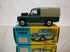 "CORGI TOYS 438 LAND ROVER 109"" W.B. - GREEN 1:43 - GOOD CONDITION IN BOX"