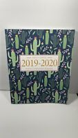 Pretty Simple Planners Weekly and Monthly Cactus Planner Calendar Schedule 2020