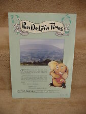 1992 1st Issue Pendelfin Times Uk Version from Family Circle