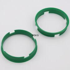 2 x Centering Ring Distance Alloy Wheels Z10D 72,6 - 70,1 mm Brock, Keskin - NEW