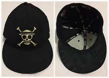 One Piece x New Era Japan Monkey D Luffy Pirate Skull Manga Anime 5950 Hat 7 3/8