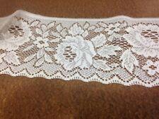5 metres Rose Lace Trim -16 cm Wide - Frill-Lace Edging -Donna Lace