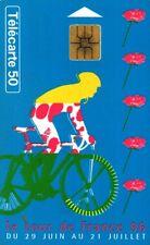 2038 SCHEDA TELEFONICA PHONECARD USATA FRANCIA TOUR DE FRANCE 1996