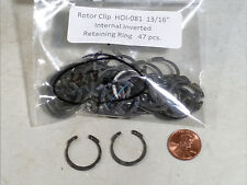 """13/16"""" Inverted Internal Retaining Rings ROTOR CLIP HOI-81ST 47 pc."""