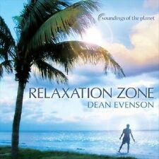 FREE US SHIP. on ANY 2 CDs! ~Used,VeryGood/Good CD Dean Evenson: Relaxation Zone
