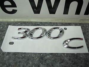 2011 2012 Chrysler 300C 300  Chrome 3D Emblem Badge Nameplate Decal Mopar Oem