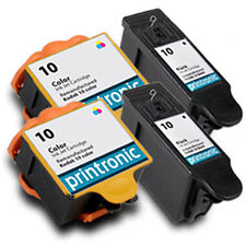 4Pk Kodak 10 Ink Cartridge Black Color for ESP 7 ESP 9 ESP 3250 5210 5250 6150