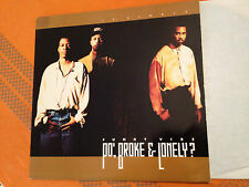 "PO' BROKE & LONELY - Funky Vibe - 1992 US 12"" Vinyl RARE RnB/SWING - EX/NM"