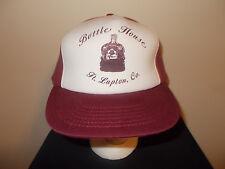 VTG-1980s Crown Royal Whisky Bottle House Fort Lupton Colorado foam hat sku14