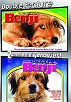 Benji / For the Love of Benji  2-Pack (DVD, 2007) Joe Camp New