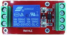 10A 5V Relay Module Optocoupler Hi/Lo for Arduino, Microcontroller, USA Shipping
