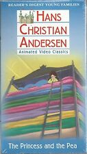 hans christian andersen princess and the pea vhs new little ida's flowers
