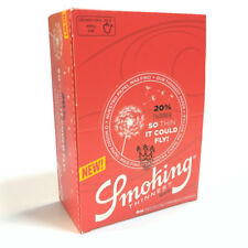 Smoking Thinnest Rolls Ultra Thin Rolling Paper Rips on 4 Metres Roll Full Box