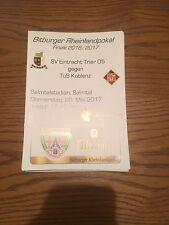 Stadion Magazin Rheinlandpokal 2017 Eintracht Trier - TuS Koblenz