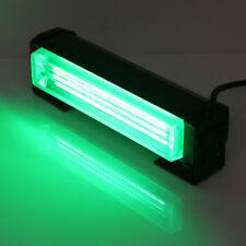 "Green 6"" 20W COB LED STROBE SIG Hazard Warning Emergency Roof Light Bar Mount"