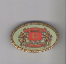 Early 1900s Utz & Dunn Rochester NY LADIES Fine SHOES pocket mirror LION or WOLF