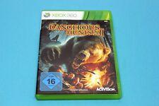 XBox 360 Spiel - DANGEROUS HUNTS 2011 - Komplett in OVP